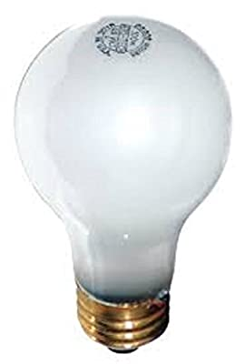Aero-Tech ULA-97 - 75W - A19 - Medium Base - 120V - 20,000 Hours - Frosted - Long Life Incandescent Light Bulb