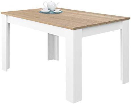 Habitdesign 0F4584A - Mesa de Comedor Extensible, Mesa salón o ...