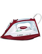 Bosch Sensixx'x DA30 TDA3024030 Steam Iron 2400 Watt Maximum Steam Jet 150 g/minSteam - 40 g/minCeranium Glissée Iron Rosso Rot