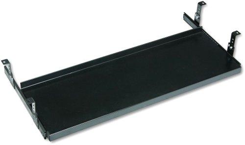 HON 4028P Underdesk Oversized Keyboard Platform/Mouse Tray, 30 x 10, Black
