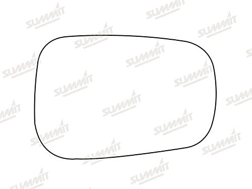 Fits on lhs of Vehicle Summit Replacement Heated Mirror Glass with Backing Plate