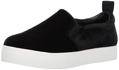 Circus by Sam Edelman Women's Scotlyn Sneaker, Black Velvet, 8 Medium US (Slip Sneakers Platform On Black)