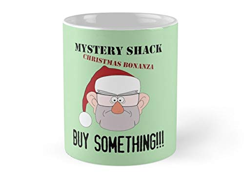 Army Mug A Mystery Shack Christmas - Green Mug - 11oz Mug - Features wraparound prints - Dishwasher safe - Made from Ceramic - Best gift for family friends
