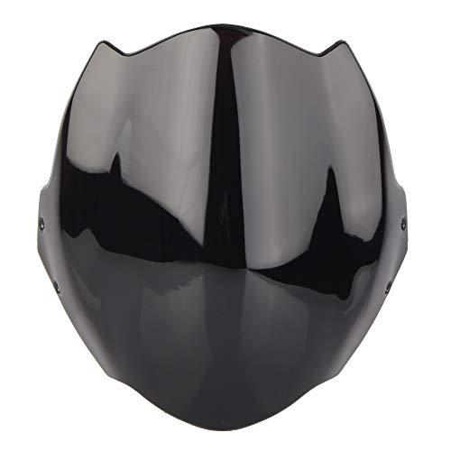 GZYF Motorbike Windshield Windscreen Fly Design Fits Ducati Monster 659/696/795/796, Black (Ducati Monster Windscreen)