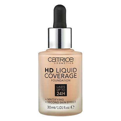 Catrice | HD Liquid Foundation – High & Natural Coverage | Vegan | 020 Rose Beige