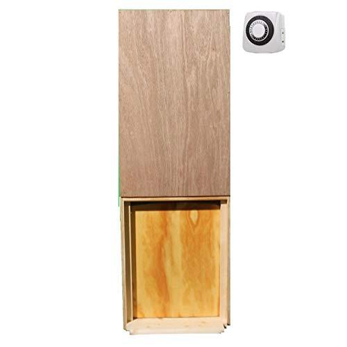 Automatic Chicken Coop Door Opener with Timer Included | Auto Vertical Sliding Pop Door for Poultry