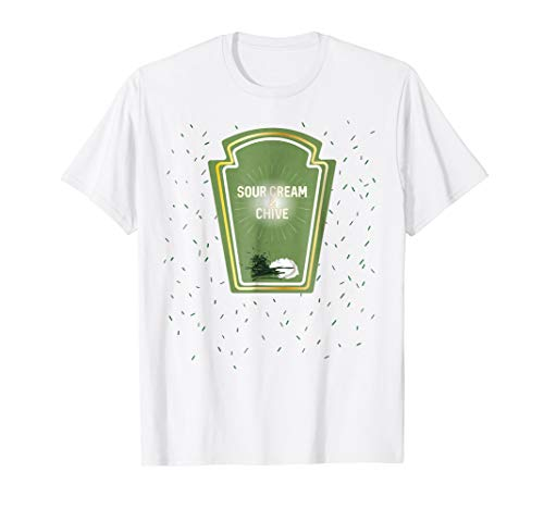 Sour Cream and Chive Halloween Costume T Shirt -