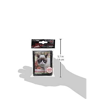 Ultra Pro Grumpy Cat Flowers Standard Deck Protector Sleeves 50ct: Toys & Games