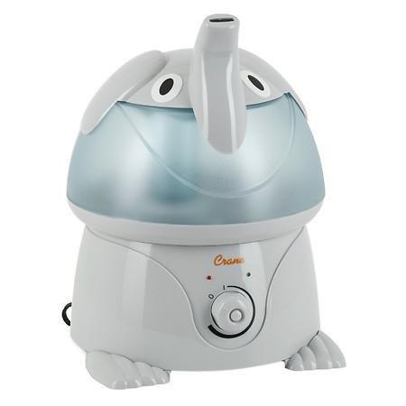 Crane Adorable Ultrasonic Humidifier Elephant - 3PC