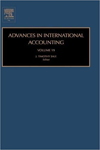 Advances in Accounting: 19