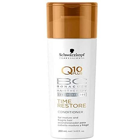 Schwarzkopf Bonacure Q 10 plus Time Restore Conditioner - 200ml Hair & Scalp Treatments at amazon