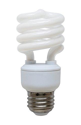 Lamp Compact Fluorescent Hour 15000 (Goodlite G-10839 13-Watt CFL 60 Watt Replacement 850-Lumen T2 Spiral Light Bulb Super Long 15,000 hour life (14 Years) Warm white 2700k)
