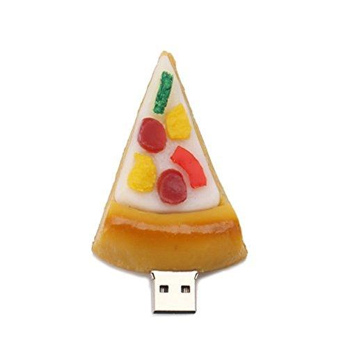 WooTeck 8GB Pizza USB Flash Thumb Drive Memory Stick Food Snack Dessert