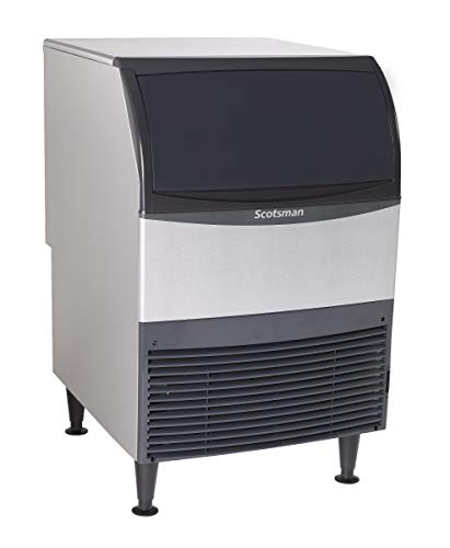 Scotsman - UN324A-1-340 lb Nugget Ice Machine with Storage Bin