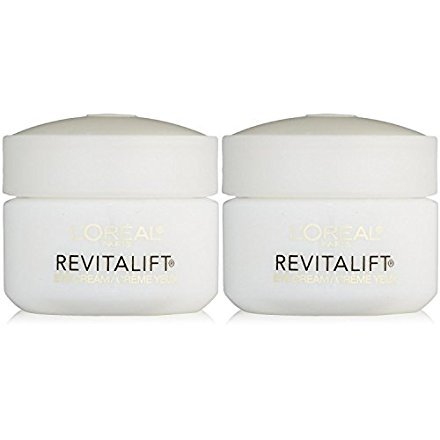 L'Oreal Paris RevitaLift Anti Wrinkle + Firming Eye Cream, 0.5 Ounce (Pack of 2)