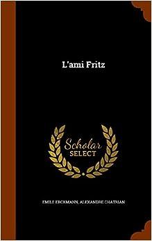 Book L'ami Fritz