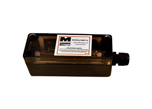 Miller Edge MWT12 Wireless Transmitter for Miller Edge Sensing Edge, Non-Monitored - Edge Transmitter