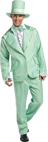 Morris Costumes 70s Inspired Funky Tuxedo Pastel Costume, Green (Funky Tuxedo Adult Men Costume)