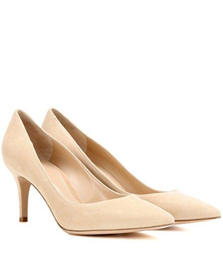 Escarpins Cm Bureau Classique Bout Chaussures Soiree Fermé Camel Pointu Shoes heel 6 Kitten Femme Edefs 1qwx4Zd1