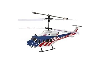 Jamara 37100 Twin Huey Big 3+2 Channel Helicopter, Multi Color