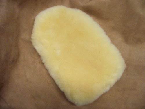 F/örster-fellnest Beau et Confortable V/éritable Peau de Mouton R/éf/érence pour Votre 2 Litres Bouillotte Cache-Bouteille DEau Chaude Fourrure