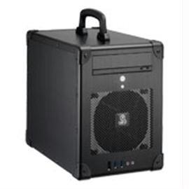 Lian-Li Case PC-TU200B Mini-ITX 1/0/(5) Aluminum USB3.0 Black