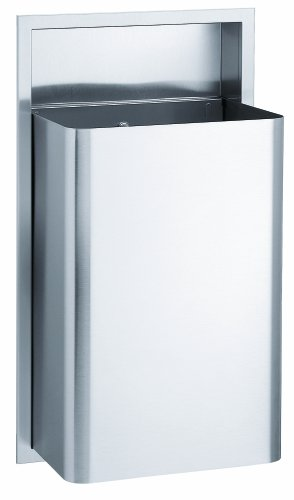 Bradley 344-000000 Stainless Steel Recessed Mounted Waste...