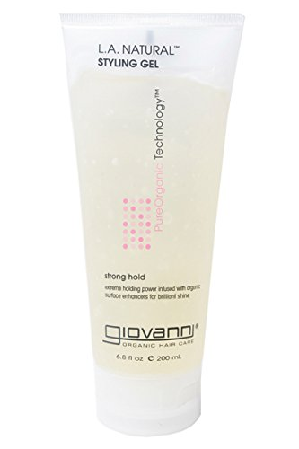 Giovanni Eco Chic Hair Care, L.A. Natural Styling Gel, Strong Hold, Packaging May Vary, 6.8-Ounce Tube (Pack of 3) Giovanni Cosmetics Inc. 4141