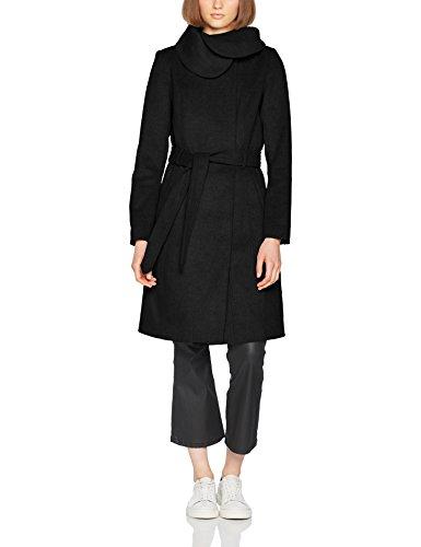 Vidahlia Black Donna Coat Nero Vila Noos Wool Black Giubbotto AxqOwv1pvn