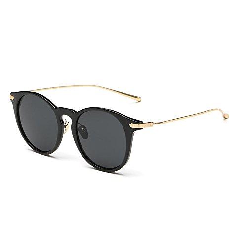 Gafas Gafas De Uv400 De 026C1 Fake 026C3 Trigo Mujer Madera Sol De TIANLIANG04 w0dqTwB