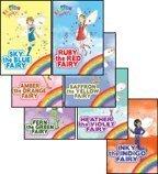 The Rainbow Magic Fairies (Original) Complete Set 1-7: Ruby the Red Fairy, Amber the Orange Fairy, Saffron the Yellow Fairy, Fern the Green Fairy, Sky the Blue Fairy, Inky the Indigo Fairy, & Heather]()