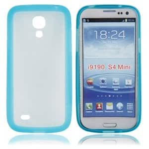 Matte Protective Case with TPU Frame for Samsung i9190 Blue