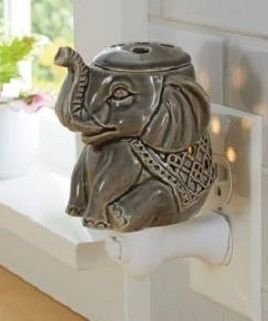 Wax Melt Warmer Electric Tart Warmer Plug In Pluggable Home Fragrance Diffuser (Elephant)