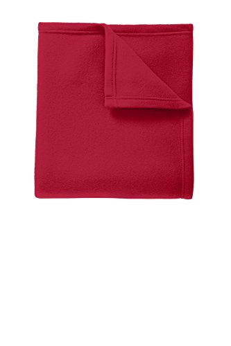 Port Authority Core Fleece Blanket_Rich Red_OSFA ()
