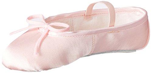 Miguelito B1030RR170 Balerinas en Raso para Niñas, Color Rosa, 17
