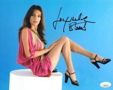 Jacqueline Bisset signed Color 8x10 Photo- Hologram #DD64508 (pink dress) - JSA Certified