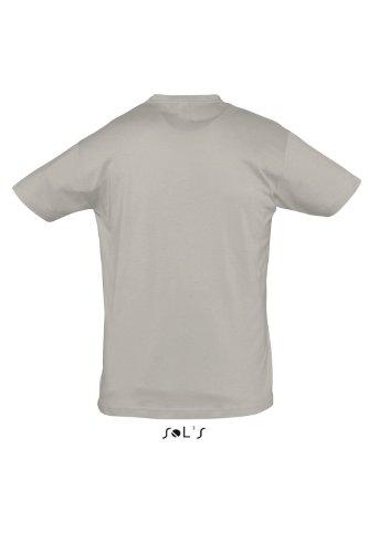 Sols - Regent - Unisex Rundhals T-Shirt , Light Grey , XXL