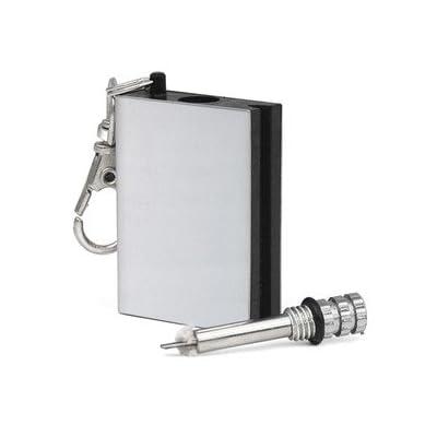Ardisle Permanent en métal Match Box Gadget de léger militaire éternelle Porte-clés fantaisie