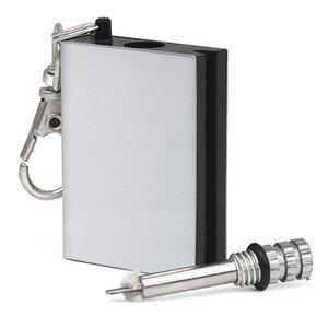 Ardisle Permanent Metal Match Box Lighter Gadget Military Everlasting Keyring Novelty