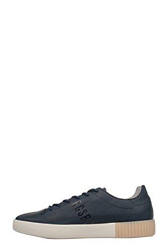 Bikkembergs Lord Bke109121 Sneakers In Pelle Blau