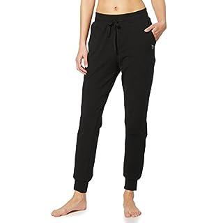 BALEAF Women's Active Yoga Sweatpants Workout Joggers Pants Cotton Lounge Sweat Running Pants with Pockets Black Size S