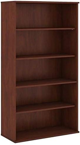 Scranton & Co 72H 5 Shelf Bookcase in Hansen Cherry