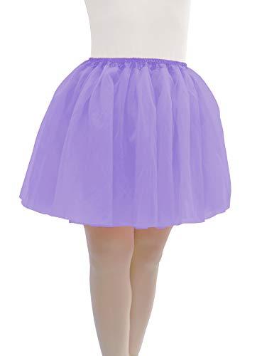 Dancina Adult 5k Fun Run Costume Tutu Regular 2-18 Lavender -