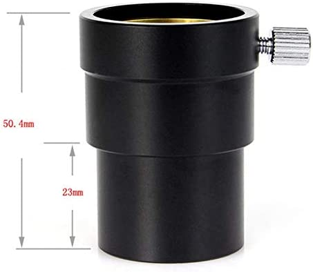Yaootely 1.25 inch Extension Tube for Astronomy Telescope Monocular Eyepiece with Brass Compression Ring