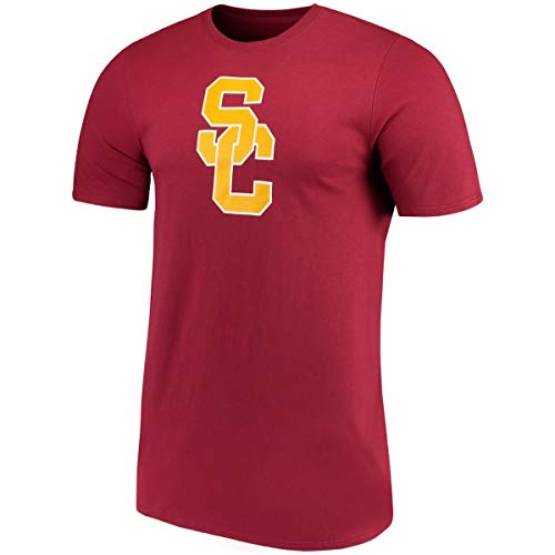 Profile Varsity University of Southern California Men's Big & Tall USC Trojans Logo T-Shirt (3XL)