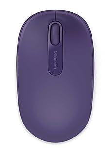 Microsoft Wireless Mobile Mouse 1850 - Purple - U7Z-00042 (B00LGEDU6A)   Amazon price tracker / tracking, Amazon price history charts, Amazon price watches, Amazon price drop alerts