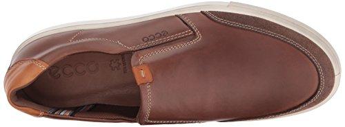 Ecco Hombres Kyle Slip On Moda Sneaker Cocoa Brown / Cocoa Brown