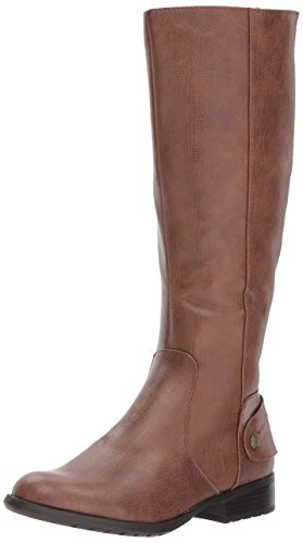 LifeStride WoMen Xandy Equestrian Boot Dark Tan