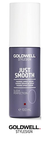 Price comparison product image Goldwell Stylesign Just Smooth Sleek Perfection 0 Thermal Spray Serum- 3.3 oz (with Sleek Steel Pin Tail Comb)