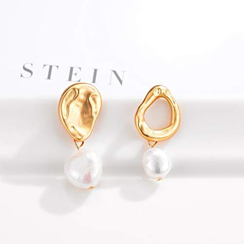Dangle Ball Earrings for Women Girls Madaooo Natural Water Pearl Earrings Series Earrings
